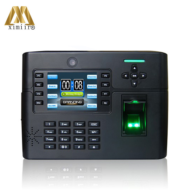 New Arrival ZK Iclock990 Fingerprint Time Attendance Door Access Control System Free Shipping Access Control Reader