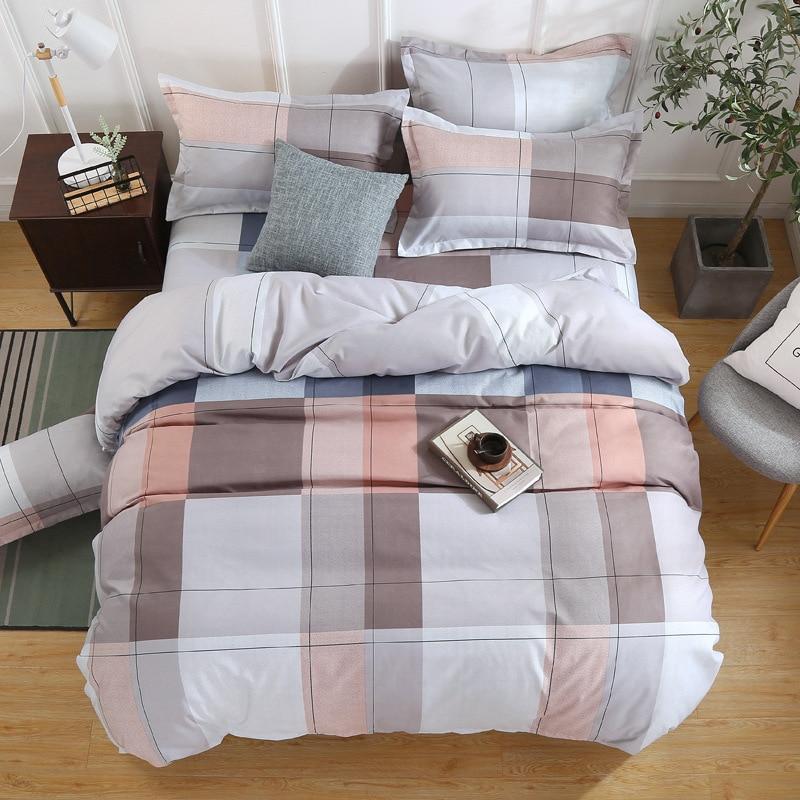 Klonca 4 pcs comforter bedding sets cashmere bedding Spring and autumn home textile Nordic style bed set