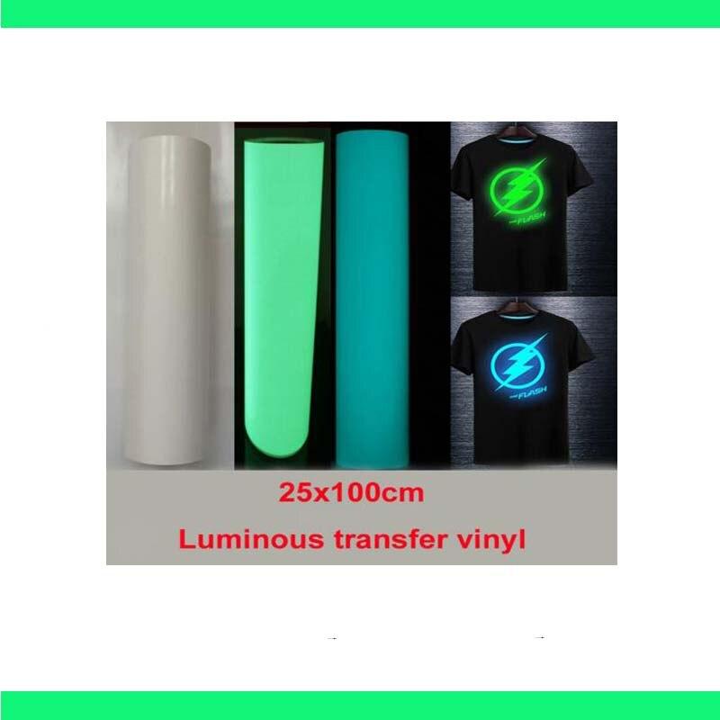 """Free shipping 1 sheet 10""""x40""""/25cmx100cm Luminous Heat"""