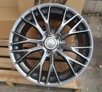 19*8.5J Wheel Rims Of The PCD 5x120.7 Center Broe 70.3 ET56 With The Hub Caps|Wheels| |  -
