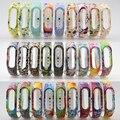 Все цвета доступна конструкция 10 шт. пакет miband2 браслет замена браслеты для miband2 смарт-браслеты