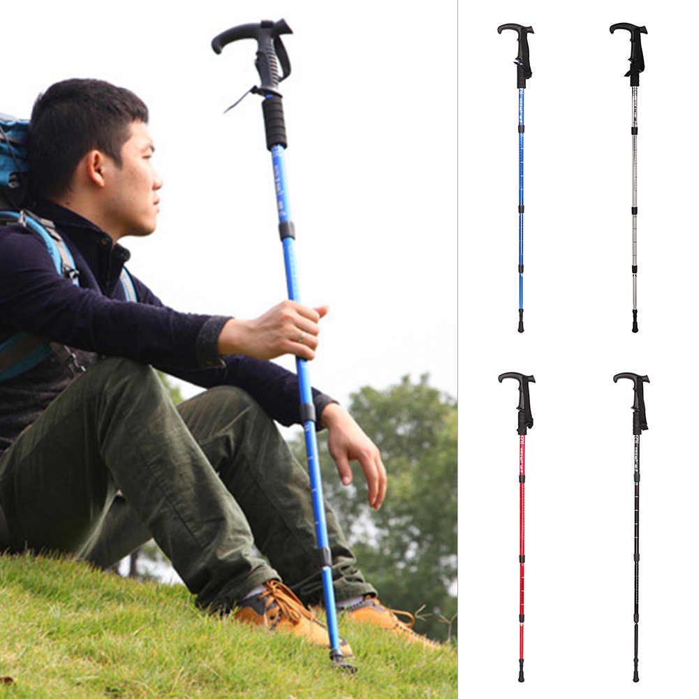 Walking Stick Bastones Rubber Tips For Walking Canes Hiking Poles Accesories FO