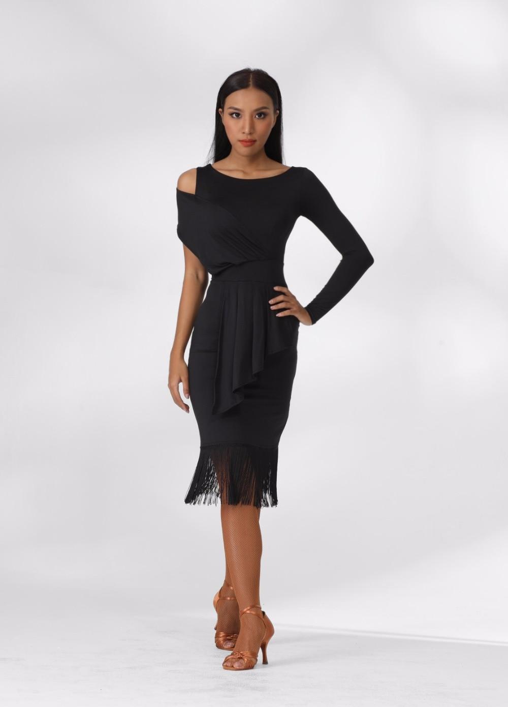 a7a9bcfa347d1 ZYM dance style latin practice wear, tassel dress ZYM1781-in Latin ...