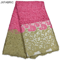 JXFABRIC African Cord Lace Fabrics High Quality New Fashion Design African Lace Fabric Hot Sale African Lace For Women Party