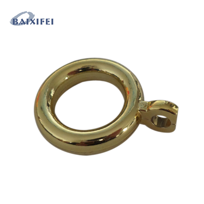 50 Pcs Plastic Ring D28.5mm, Curtain Rod Rings for Window Decoration