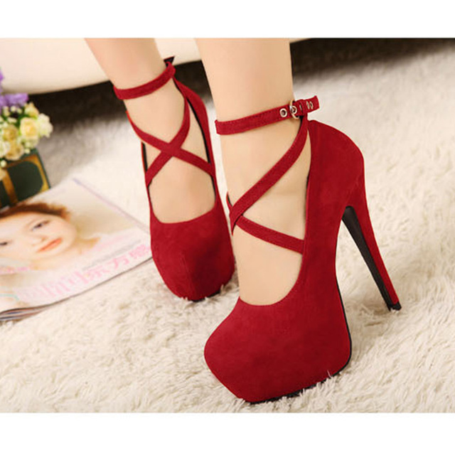 Hot Fashion high-heeled wedding party shoes