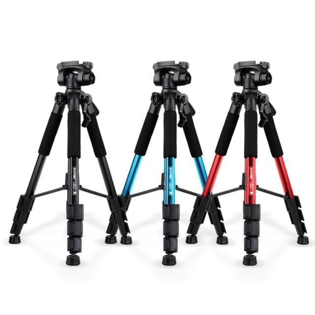 Новый zomei q111 профессиональный алюминиевый штатив камеры стенд с полукруглой головкой для dslr