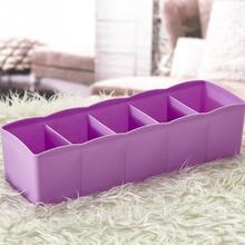 2017 Candy Color Multifunction plastic Desktop And Drawer Storage Box Office Organizer Box 26.7*6.6*8.3cm