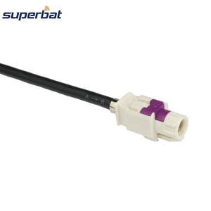 Image 3 - Superbat Vehicle/Car HSD Cable Dacar 535 Assembly B Code Connector Straight Jack to A Code Right Angle Female for Benz BMW
