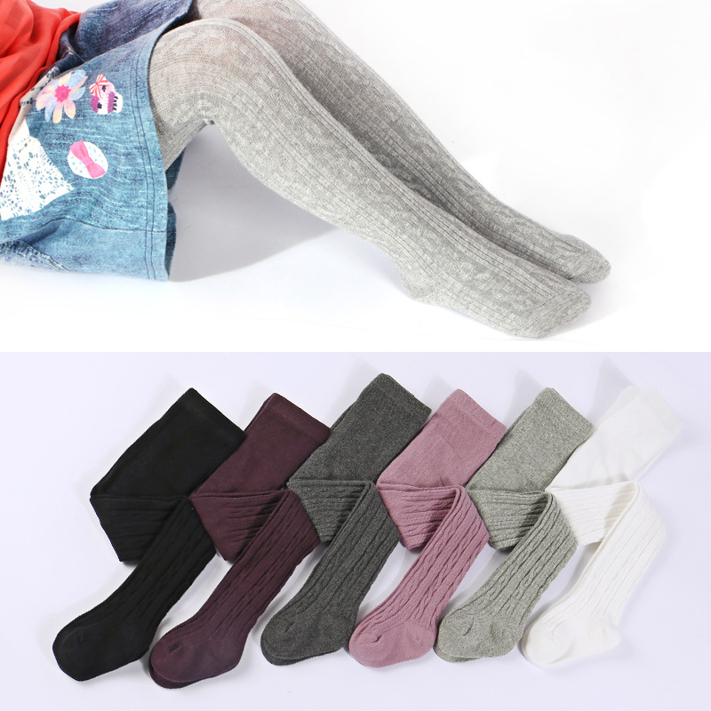 Newborn Infant Rib Knit Baby High Quality Girl Tights Casual Warm Baby Tights Dance Baby Pantyhose Baby Girl Clothes rib knit tights