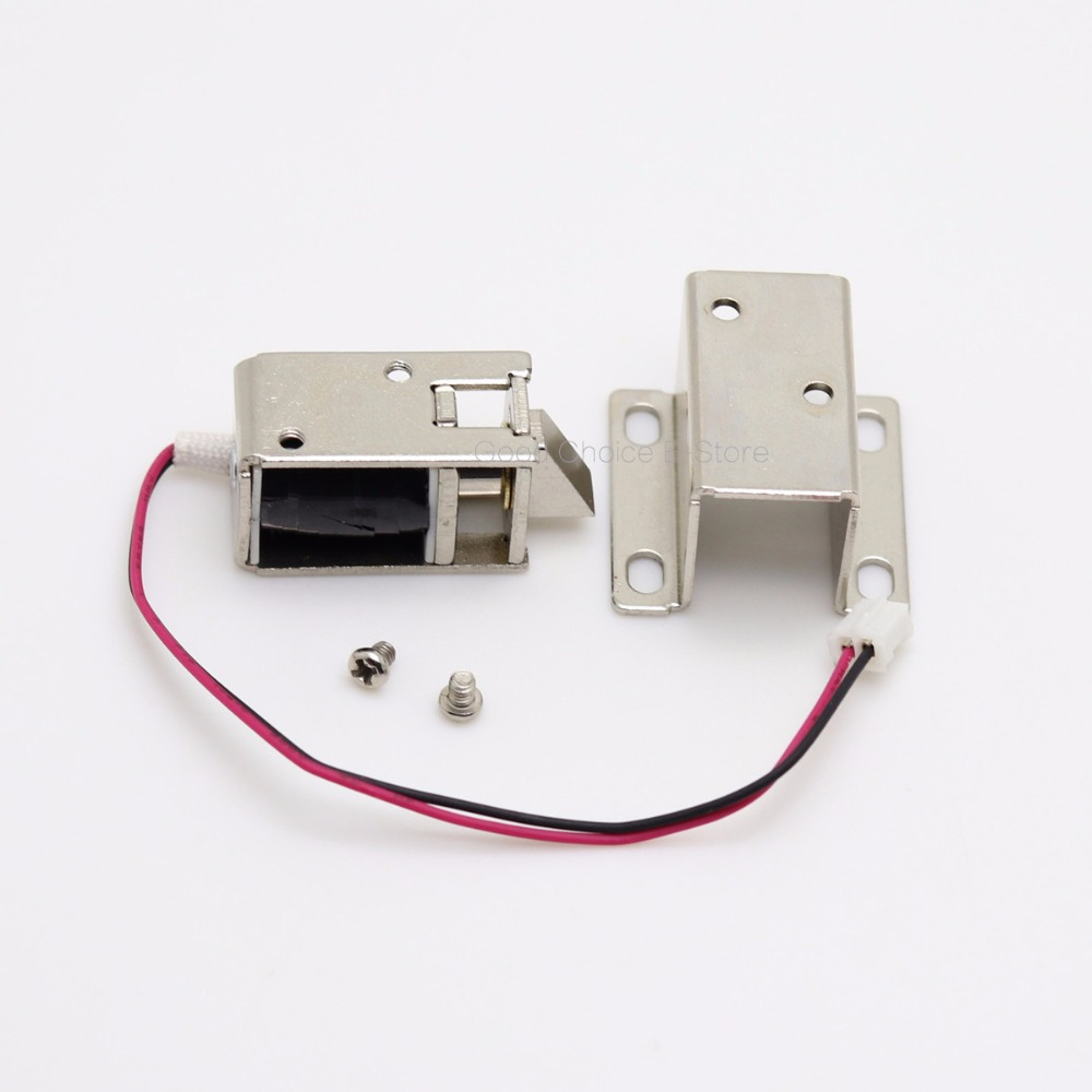 DC 12V Solenoid Electromagnetic Electric Control Cabinet Drawer Lock ...