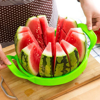 Watermelon Slicer Splitter Water Melon Cutter Into 12 Pieces Fruit Knife Kitchen Utility Gadgets Stainless Steel