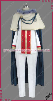 Black Clover: Quartet Knights Magic Knight Golden Dawn Klaus Lunettes Uniform Outfit Cosplay Costume S002 - Category 🛒 Novelty & Special Use