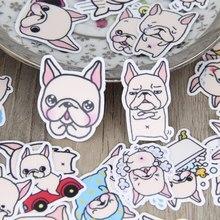 40pcs Cute Dog Scrapbooking Stickers Animal Dgos Decorative Sticker DIY Craft Photo Albums Decals Diary Deco