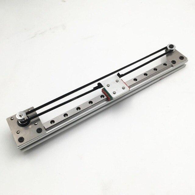 Funssor DIY ЧПУ Reprap 3D принтер X axis 2020 профиль MGN12H линейная рейка набор направляющих движения
