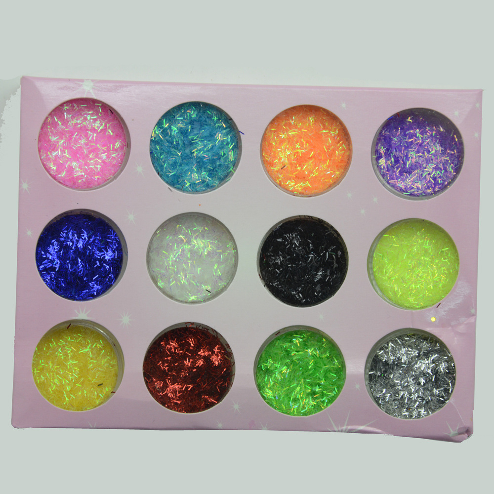 VTB006 Bonne qualité mode NOUVEAU shinning Nail Glitter Poudre arcylic poudre