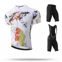 2019 Mens Cycling Clothes Summer Cycling Jersey Ropa Ciclismo Breathable Pro Team Racing Sport Bicycle Clothing MTB Bike Jersey недорого