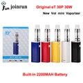 Оригинальные Электронные Сигареты ECT eT 30 P 30 Вт Окно Мод Вот Мини Контроля Потока Воздуха Распылитель Встроенный 2200 мАч Батареи E-Cigarettes