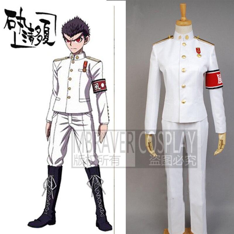 Dangan Ronpa Danganronpa Trigger Happy Havoc Kiyotaka Ishimaru Cosplay Costume