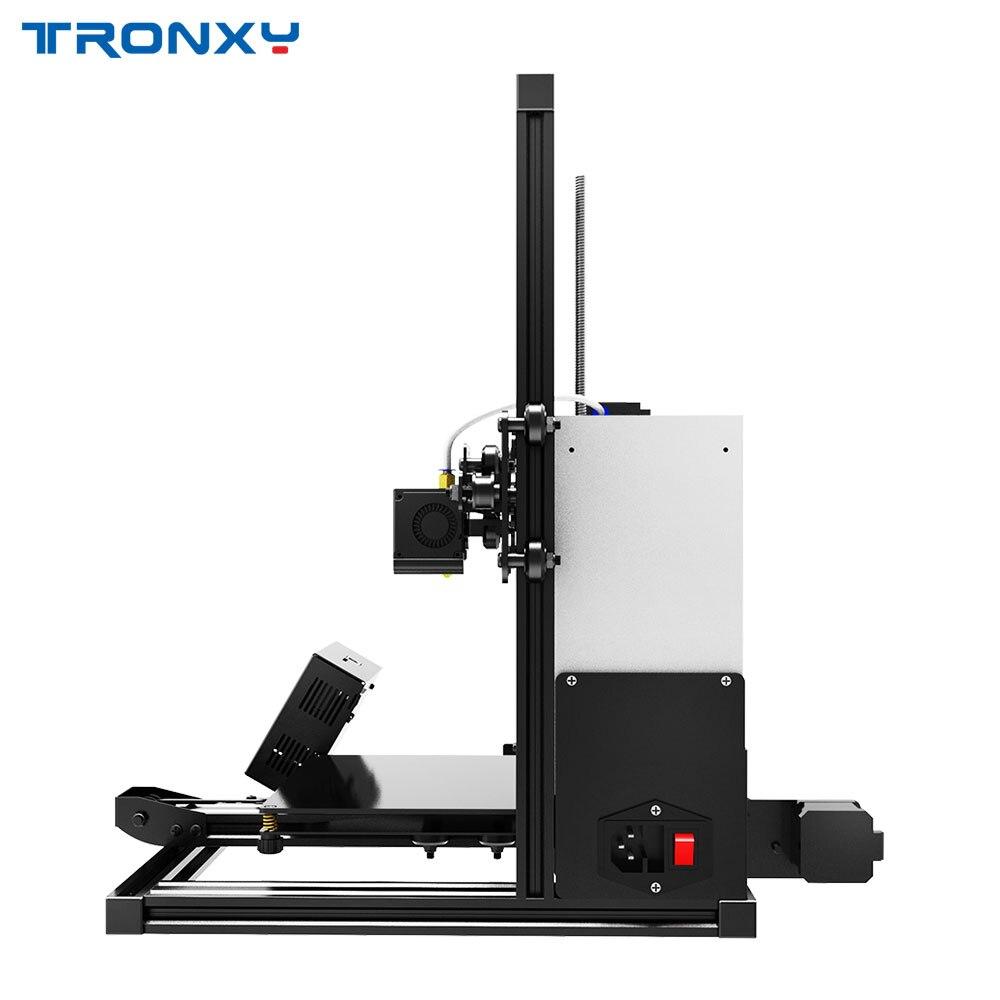 Tronxy XY-2 Rapide Assemblée Full metal 3D Imprimante 220*220*260mm Haute impression Magnétique Chaleur Papier 3.5 pouces écran tactile - 3