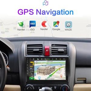 "Image 4 - Autoradio Multimedia Speler 2 Din 9 ""Android 8.1 Auto Radio Navigatie Voor Honda Crv CR V 2006 2011 stereo Wifi Navi Gps"