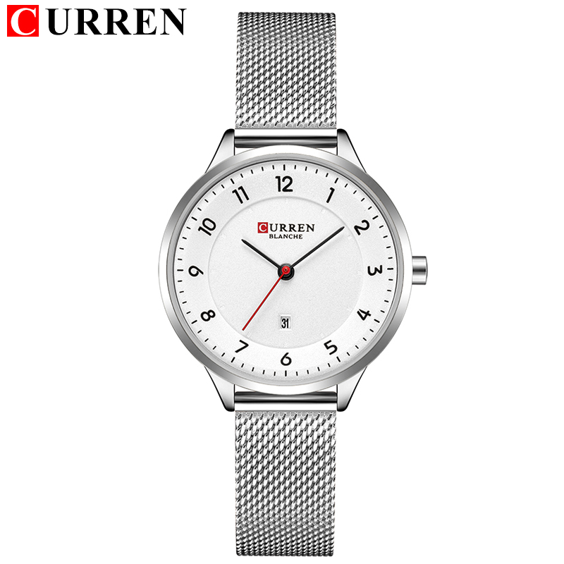 CURREN New 9035 Quartz Women Watches Casual Fashion Ladies Gift Wrist Watch Relogio Feminino
