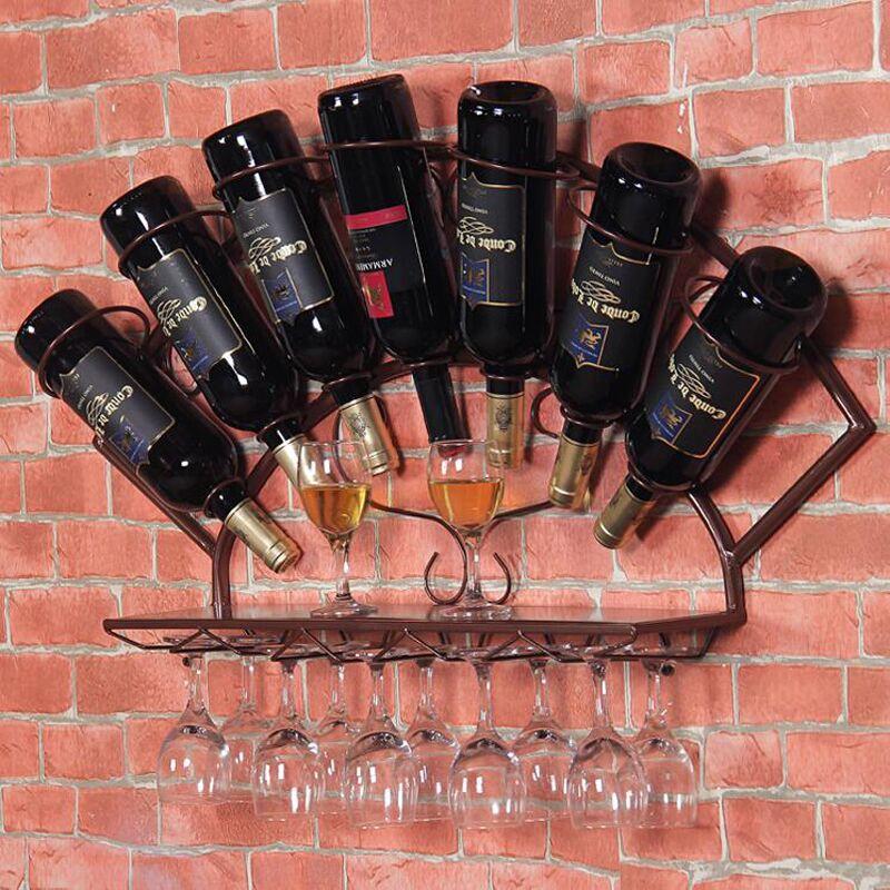 Wood Whisky Bottle Holder Ideas: Wooden Wine Rack Holder Frasqueira Stemware Rack Stones