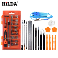 HILDA 75 In 1 Magnetic Driver Kit Precision Screwdriver Set For Cell Phone And Tablet PC