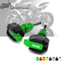 for Benelli Leoncino 500 Leoncino500 Leonine LeonineX 16 18 Sliders Guards Pads Motorcycle Engine Frame Crash Bungs Protectors
