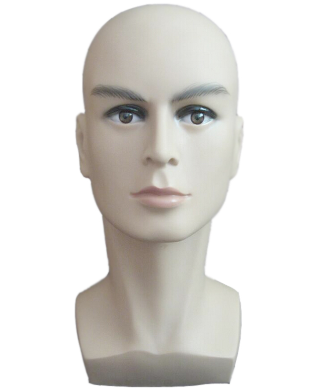 Free shiping male Mannequin Head Hat Display Wig training head model head model men's head model head