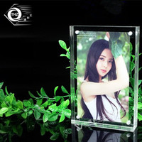 6 152x102mm Thickness 10 10mm Acrylic Magnet Photo Frame Bedroom Decor Creative Crystal Picture Frame