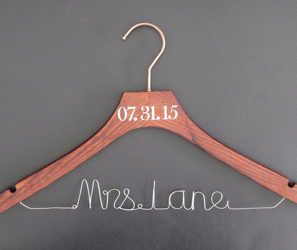 Gepersonaliseerde bruiloft Hanger boog trouwjurk Hanger - Feestversiering en feestartikelen