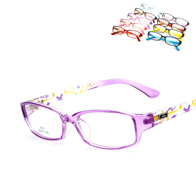 Cartoon Cute Solid Plastic Children Spectacles Baby Kids Eye Glasses Frame Up Oculos Gafas Girl multicolor Glasses Frame Q009