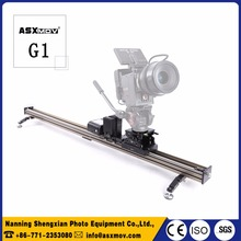 ASXMOV professional aluminum wired control dolly track video camera slider dslr for camera & photo accessories