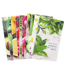 NATURE REPUBLIC Real Nature Mask Sheet 5 pcs Face Masks Moisturizing Oil Control Natural Essence Whitening Korea Cosmetics