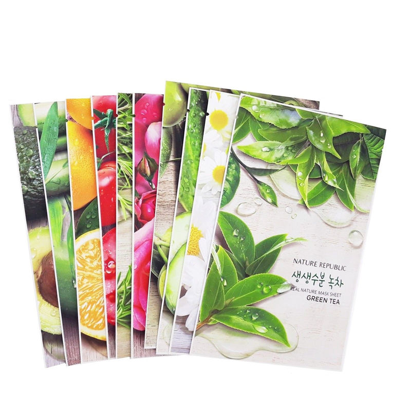 NATURE REPUBLIC Real Nature Mask Sheet 1pcs Face Masks