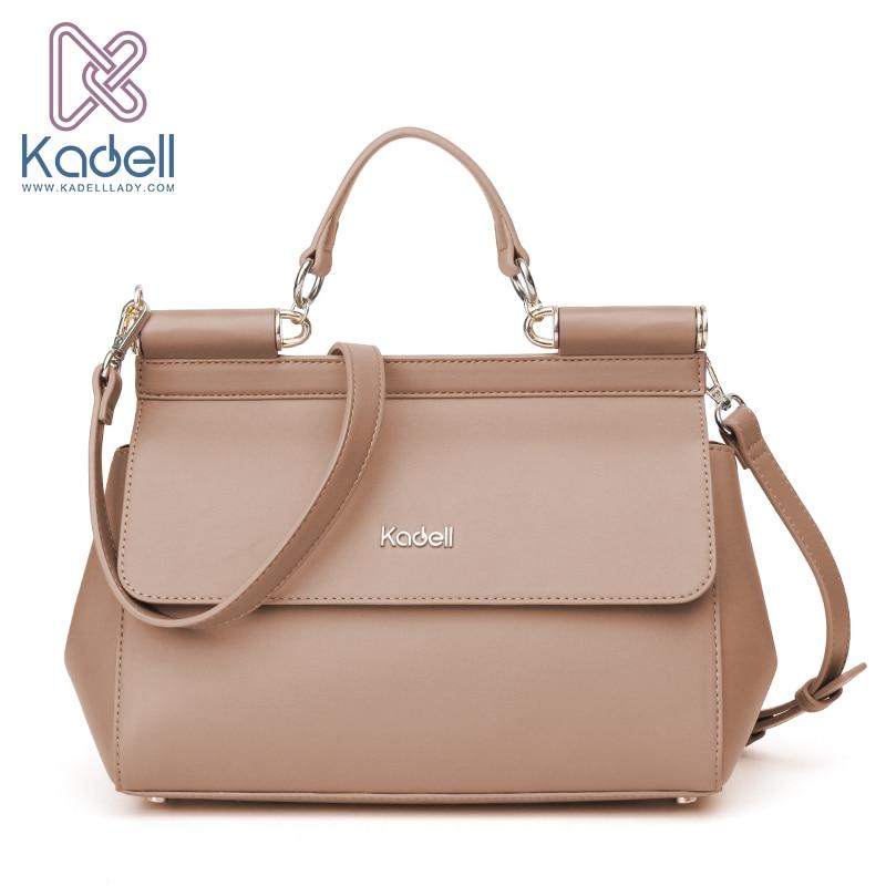 Kadell Vintage High Quality Women Messenger Bags Handbag Doctor Bag Fashion Bran