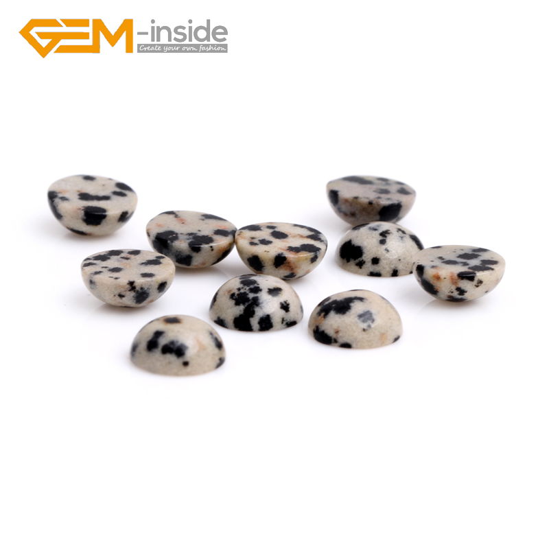 Dalmation Jaspers CAB cabochon Beads For Jewellery Ring Pendant Making DIY Ring Gifts 5 Piece Wholesale Free Shipping!