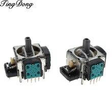 1 pçs usado alpes 4pin substituição preto 3d joystick polegar analógico vara para controlador ps3 dualshock 3