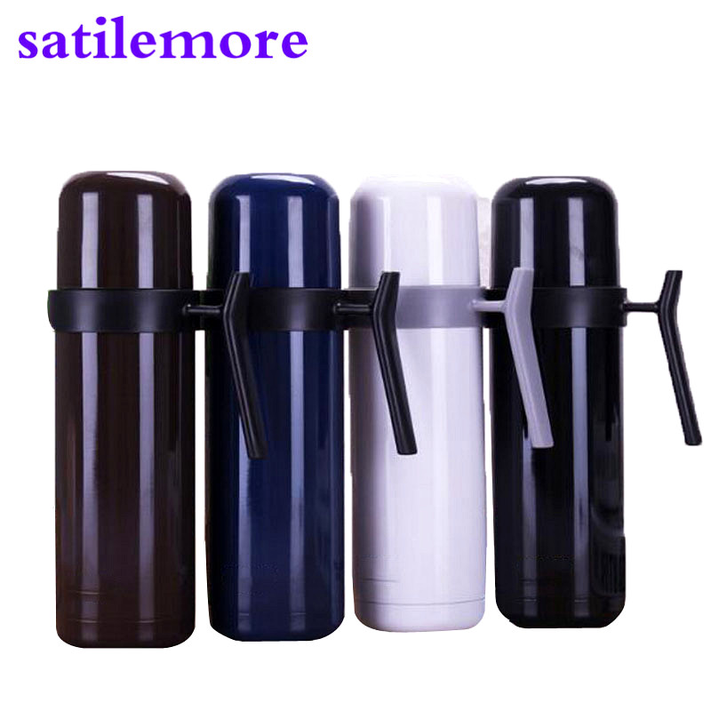 Satilemore Thermos cup Coffee Tea Thermos Stainless Steel Insulation Cup Vacuum Flasks Water Bottle
