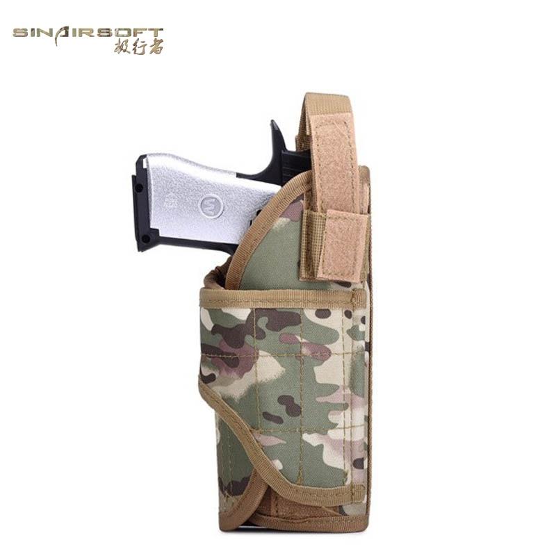 Fans Del Ejército Militar Caza de Airsoft Pistola Pistolera Bolsa Militar Fundas