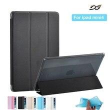 Para iPad mini 4 Caso Xinysan Cuero de LA PU y Silicona Suave Tpu Cubierta Elegante Seguro A Prueba de Golpes para iPad mini 4 + Film + Stylus