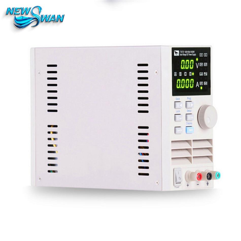 IT6721 Digital DC Power Supply 10mV/1mA 60V/8A for Scientific Research Service Laboratory