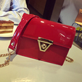 new mini bags Women Messenger Bag Patent Leather Chain Shoulder Women Crossbody Small Bag
