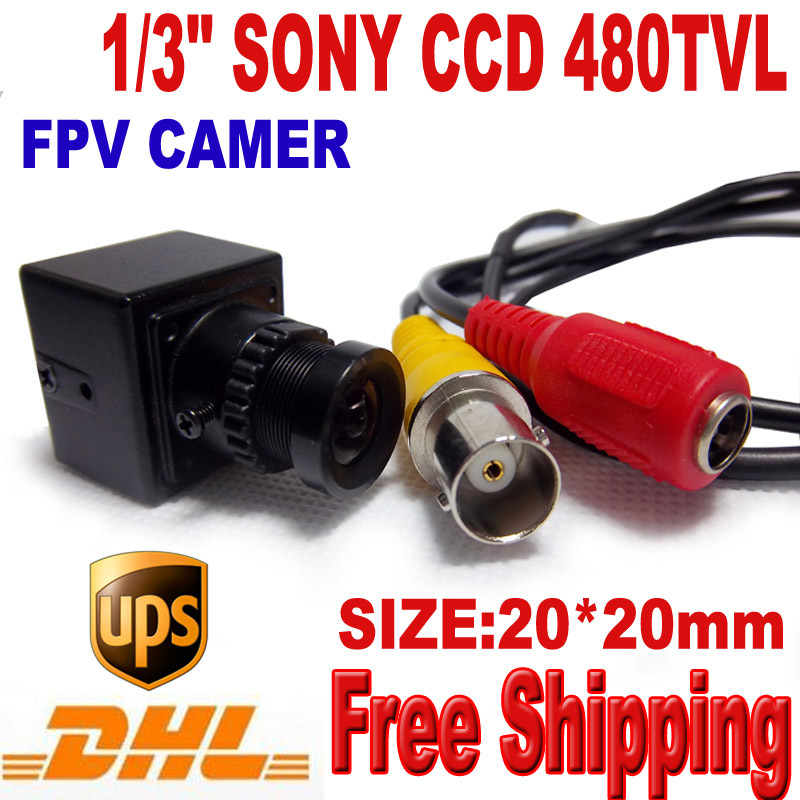 ФОТО 480TVL fpv  mini ccd camera ccd camera Size 20x20mm 2 boards Mini Camera RC camera Free Shipping DHL\UPS