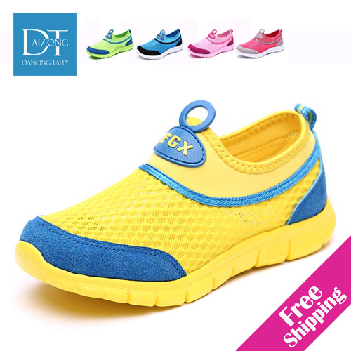 Size26-37 NEW 2015 breathable mesh kids shoes for ...