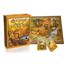 The Strategy Game Funny STONE AGE Interaction Puzzle Toy Board Game  Provide in English File Instructions(China)