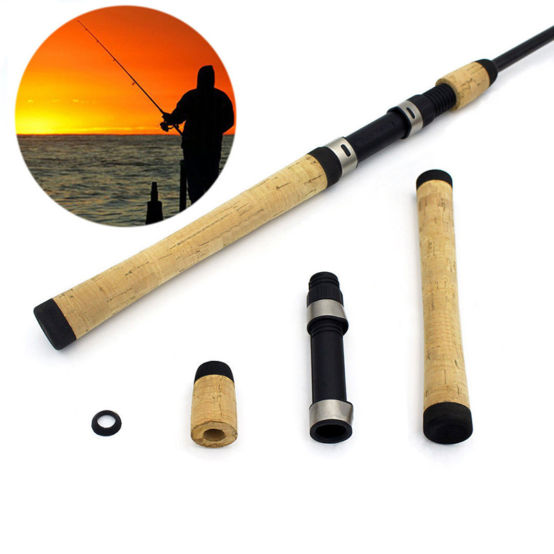 Spinning Light Weight Fishing Rod Building Repair Composite Soft Cork Handle Grip and Reel Seat For Outdoor Fishing
