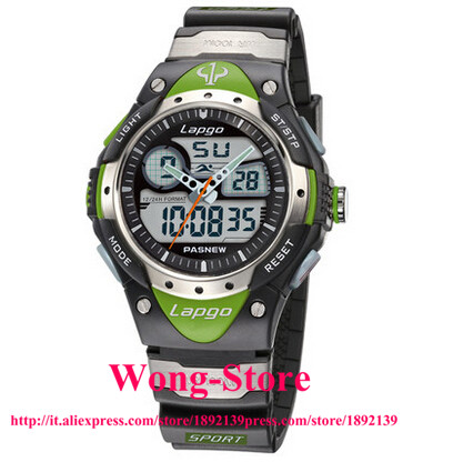 2016 PASNEW Military Electronic Outdoor Male Watch Students Multifunction Watches 100 Meters Waterproof Dive 388AD