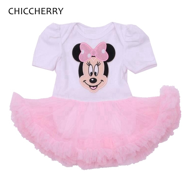 d3beae098ba9a Fantasia Minnie 1 & 2 Year Birthday Dress Newborn Baby Girl Clothes Vestido  Infant Wedding Dress Lace Girls Dresses Summer 2016-in Dresses from Mother  ...